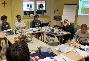 """PG-Treffen: Die AG """"Hier bestimme ich mir"""" traf sich an einem der Projektstandorte in Wolmirstedt."""